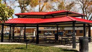 Shade Shelters and Pavilions